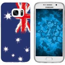 Case für Samsung Galaxy S7 Silikon-Hülle WM Australien M2 Cover