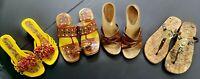 Lot of 4-Women's-Sandals-Sizes:6 & 7-Lena Luisa-Michael Kors-Predictions-Uttam