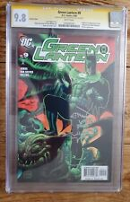 Green Lantern 9 Variant CGC 9.8 Sig Series Signed by Van Sciver