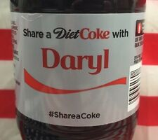 Share A Diet Coke With Daryl Limited Edition Coca Cola Bottle 2015 USA