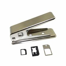 Nano Sim Cutter inkl. Adapter und Nadel Kartenschneider Stanzer für Smartphones