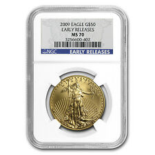 1 oz Gold American Eagle MS-70 NGC (Random Year) - SKU #83481