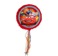 DISNEY CARS BIRTHDAY PARTY SUPPLIES PINATA PINYATA 46x10cm, FREE INVITES (8)*