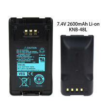 2600mAh Li-Ion Knb-47 Knb-48L Battery fits Kenwood Tk-5220 Tk-5320 Nx-200 Nx-300