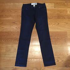 Converse One Star Circa 1974 Womens Black Skinny Straight Denim Jeans Size 6 ⭐️