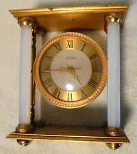Angelus Clock Co British 8 Day Desk Clock Super Nice