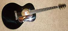 Gretsch Historic G3101 - Black Gloss Hawaiian Acoustic Guitar Solid Spruce