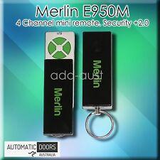 Merlin E950M Security + 2.0. 4 Button Mini Slider Remote Compatible w/ EVO range