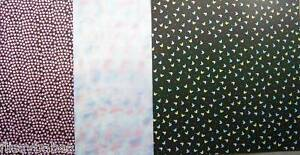 """12 x 6"""" (150 x 150mm) Pretty Patterned Backing Papers 3 Patterns NEW"""