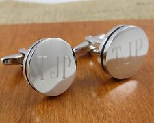 Personalized Cuff Links- Engraved - Monogrammed - Groomsman Gifts (797)