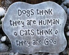 Dog cat mold plaque mold garden ornament casting