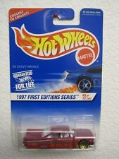 Hot Wheels 1997 First Editions '59 Chevy Impala Error - Dash Loose