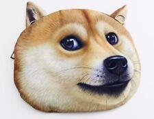 Cute 3D Print Dog Purse Crossbody Small Bag (KT00073)  US Seller