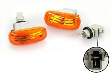 01-05 Civic EM2 JDM Amber Fender Side Marker Lights PR