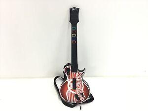 XBOX 360 Guitar Hero Wireless Les Paul Gibson Controller #926