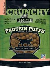 Redbarn Protein Puffs Crunchy Salmon Flavor Treats for Cats 1 Ounce