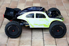 Custom Body Muddy Green WB Baja Bug for ARRMA 1/8 TALION 6S BLX Car Shell Cover