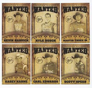 2009 Main Event RENEGADE ROUNDERS WANTED Complete 9 card set BV$50! (All $4+!)