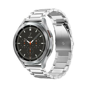 Replacement Stainless Steel Watch Band Strap For Samsung Galaxy Watch 4 Classic