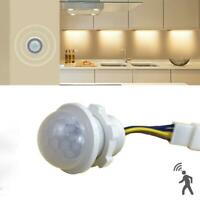 Intelligent PIR Infrared Body Motion Sensor Detector Lamp Light 100-240V