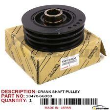 TOYOTA LEXUS LAND CRUISER LX450 FACTORY OEM 13470-66030 ENGINE CRANKSHAFT PULLEY
