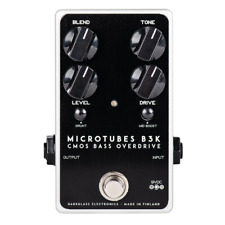 Darkglass Microtubes B3K V2 CMOS Bass Overdrive Pedal!  MTB3K