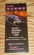 Original 1999 Oldsmobile Alero Foldout Sales Brochure 99