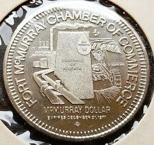 1977 Fort McMurray Alberta $1 Trade Token - Alberta Map, Oil & Gas Industry