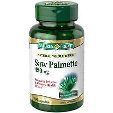 Nature's Bounty Saw Palmetto 450mg Cap 100ct