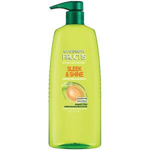 Garnier Fructis Sleek & Shine Shampoo, Pump (40 fl. oz.)