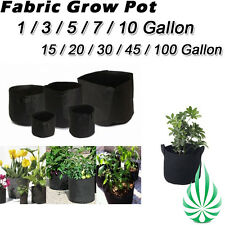 Local Pickup Hydroponic Fabric Felt Plant Grow Pots Grow Bag 1 to 100 Gallon