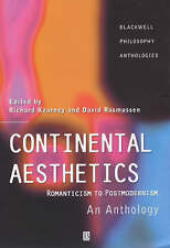 NEW Continental Aesthetics: Romanticism to Postmodernism: An Anthology