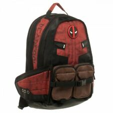 Marvel Comic Deadpool Captain America Backpack Laptop Travel Bag School Bags