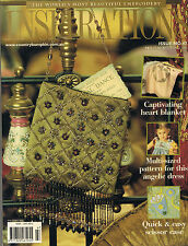 INSPIRATIONS MAGAZINE issue 47 The Worlds Most Beautiful Embroidery