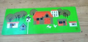 Vintage Galt Toys See Inside Farm Wooden Jigsaw Puzzle Boxed Made in England
