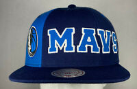 Mitchell and Ness NBA Dallas Mavericks Hexagon Snapback Hat, Cap, New