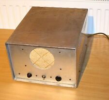 Telefunken-Sonido de cine tubos amplificador con ela-altavoces muy difícil