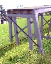 14ft trestle bridge pier square post HO Scale (KIT)
