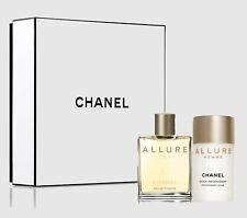 Chanel Allure Homme 1.7 oz / 50 ml Eau de Toilette Splash and Deodorant Gift Set