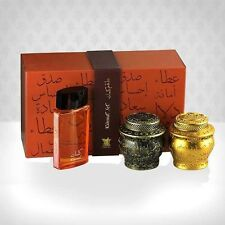 KALEMAT Set perfume and incense by Arabian Oud for Unisex SEALED