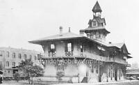 "Photo 1899 Pensacola FL ""Railroad Station / Depot"""
