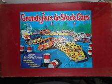 grand jeux de stock car vintage  1950  ancien (grand modéle)