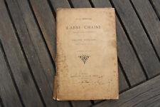 à la mémoire de l'abbé CHAINE, fondateur collège d'OULLINS, Lyon 1894