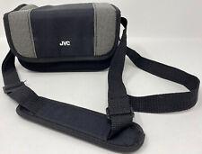 JVC Black Digital Camera Bag with Adjustable Strap