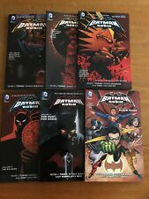 DC Comics Batman and Robin New 52 Volumes 1,2,4,5,6,7 (Missing Volume 3)