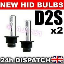 2x REPLACEMENT XENON HID Bulbs D2S FOR FACTORY FITTED LIGHTS 12000k