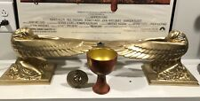 New listing Indiana Jones props Ark of the Covenant Angels, Ra headpiece, Holy Grail