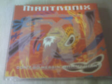 MANTRONIX - DON'T GO MESSIN' WITH MY HEART - 3 MIX CD SINGLE
