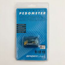 Sportline Electronic Pedometer Model 345 Steps Distance Calories Walk Jog NEW
