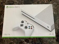NEW/SEALED Xbox One S 1TB Console Microsoft w Wireless Controller